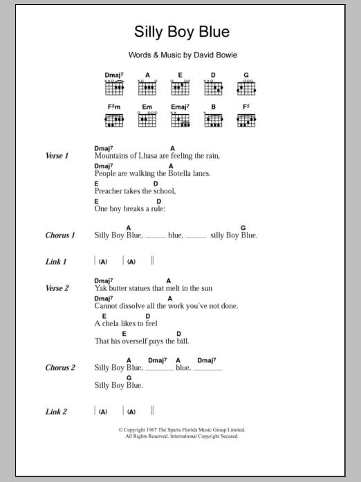 Silly Boy Blue | Sheet Music Direct
