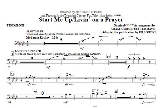 Start Me Up/Livin' On A Prayer - Trombone (Choir Instrumental Pak)