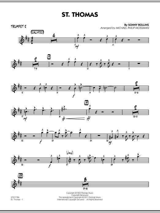 St. Thomas - Trumpet 2 (Jazz Ensemble)