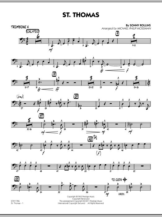 St. Thomas - Trombone 4 (Jazz Ensemble)