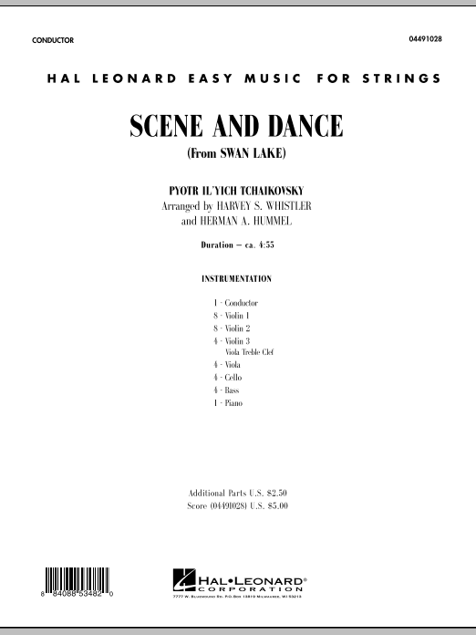 Scene And Dance (from