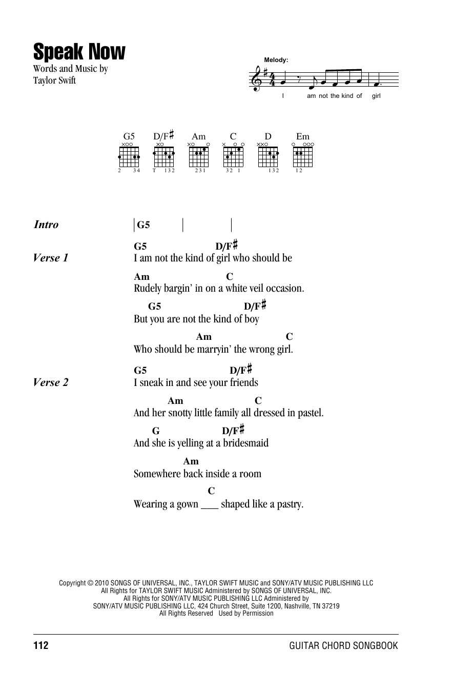 Ukulele ukulele tabs taylor swift : Ukulele : speak now ukulele chords Speak Now Ukulele or Speak Now ...