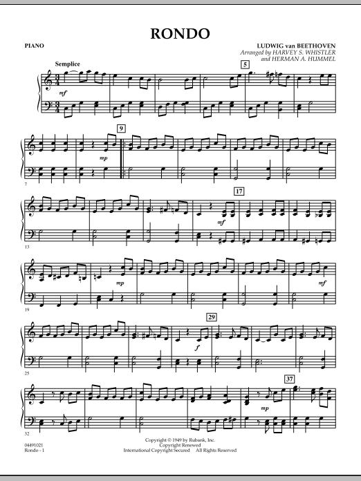 Rondo - Piano (Orchestra)
