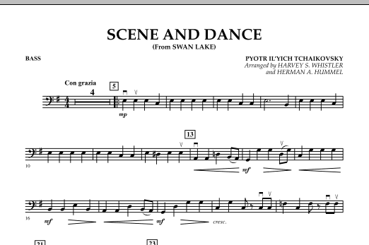 """Scene And Dance (from """"Swan Lake"""") - Bass (Orchestra)"""
