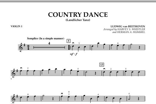 Country Dance (Landlicher Tanz) - Violin 1 (Orchestra)