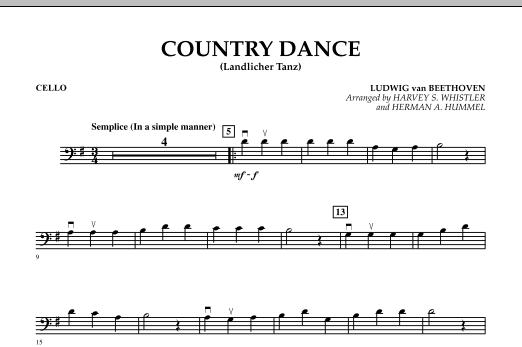 Country Dance (Landlicher Tanz) - Cello (Orchestra)