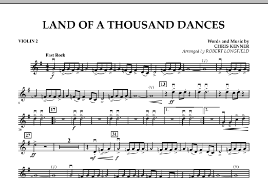 Land Of A Thousand Dances