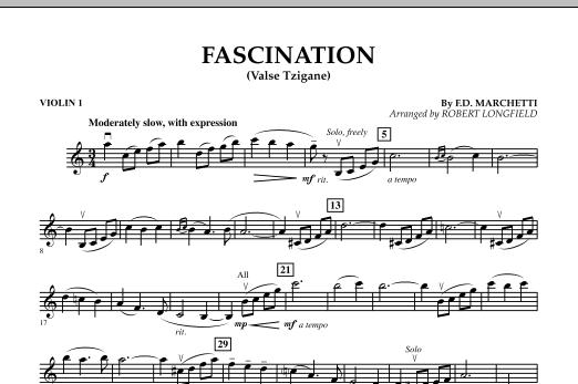 Fascination (Valse Tzigane) - Violin 1 Sheet Music