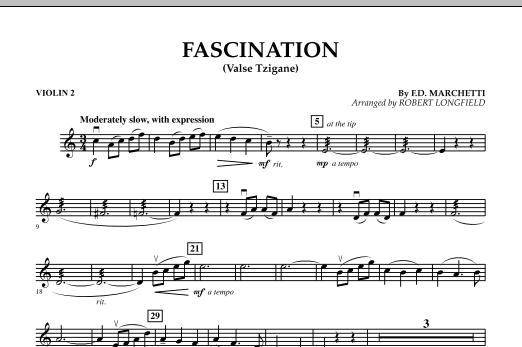 Fascination (Valse Tzigane) - Violin 2 (Orchestra)