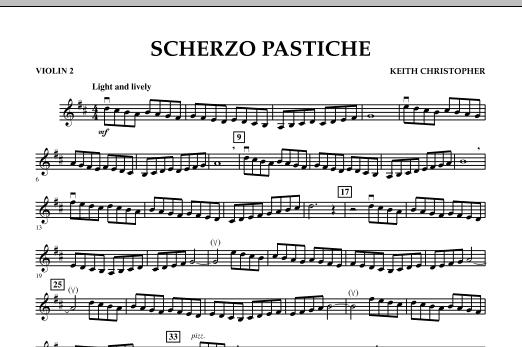 Scherzo Pastiche - Violin 2 (Orchestra)