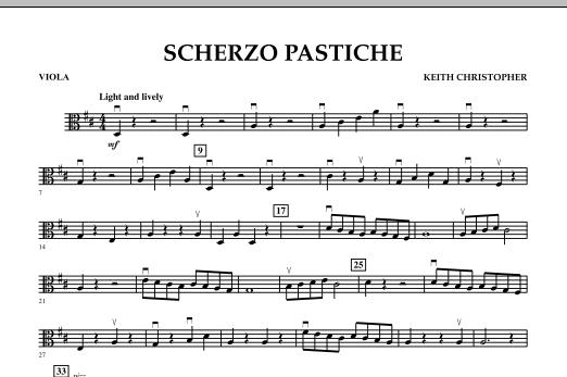Scherzo Pastiche - Viola (Orchestra)