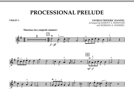 Processional Prelude - Violin 1 (Orchestra)