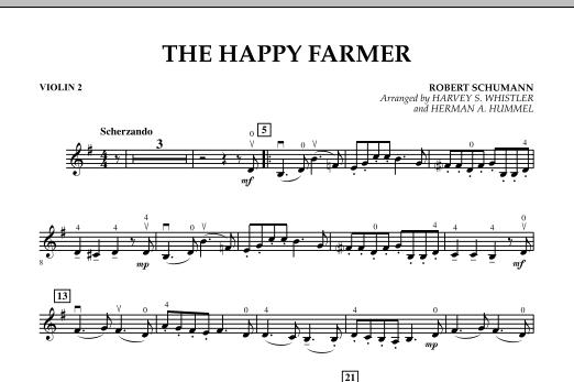 The Happy Farmer - Violin 2 (Orchestra)