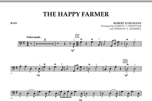 The Happy Farmer - Bass (Orchestra)