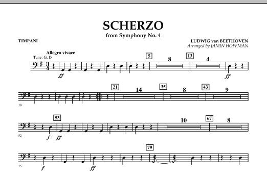 Scherzo from Symphony No. 4 - Timpani (Orchestra)