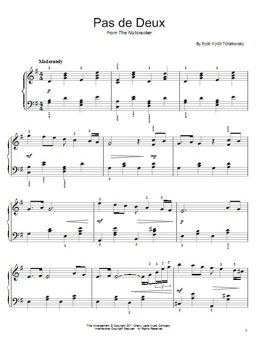 tchaikovsky swan lake piano pdf