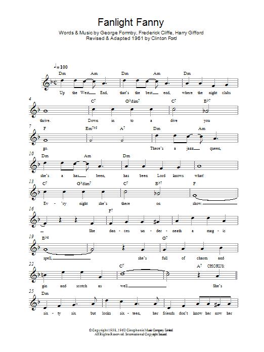 Fanlight Fanny Sheet Music