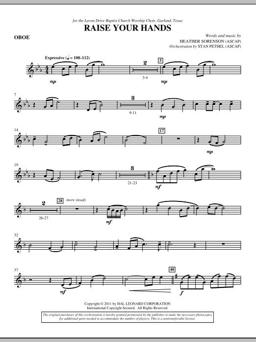 Raise Your Hands - Oboe (Choir Instrumental Pak)