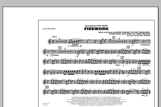 Firework - 1st Bb Trumpet (Marching Band)