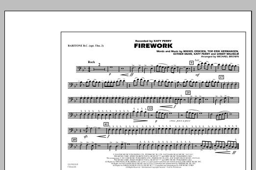 Firework - Baritone B.C. (Opt. Tbn. 2) (Marching Band)