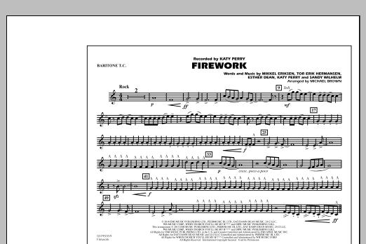 Firework - Baritone T.C. (Marching Band)
