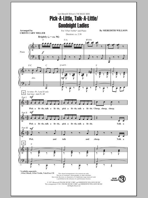 Pick-A-Little, Talk-A-Little / Goodnight Ladies (3-Part Treble Choir)