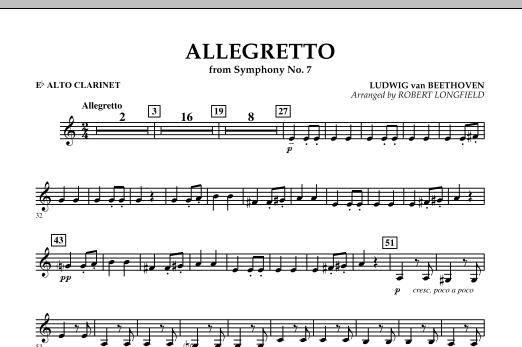 Allegretto (from Symphony No. 7) - Eb Alto Clarinet (Concert Band)