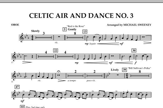 Celtic Air & Dance No. 3 - Oboe (Concert Band)