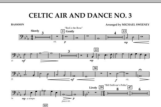 Celtic Air & Dance No. 3 - Bassoon (Concert Band)