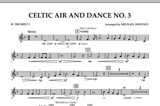 Celtic Air & Dance No. 3 - Bb Trumpet 2 (Concert Band)