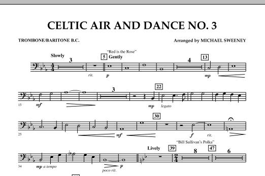 Celtic Air & Dance No. 3 - Trombone/Baritone B.C. (Concert Band)