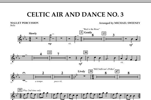 Celtic Air & Dance No. 3 - Mallet Percussion (Concert Band)
