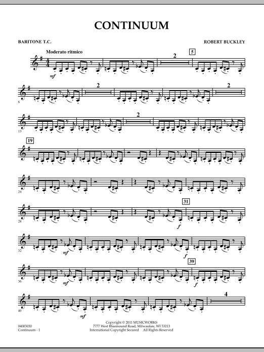 Continuum - Baritone T.C. (Concert Band)