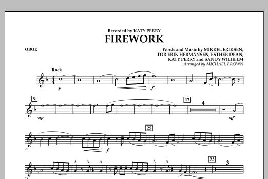 Firework - Oboe (Concert Band)