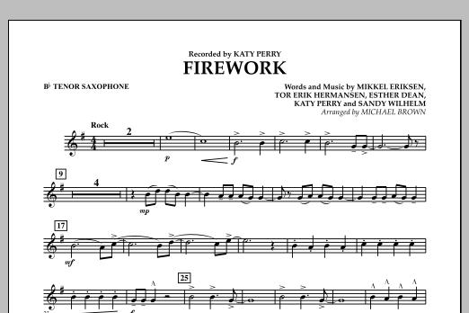 Firework - Bb Tenor Saxophone (Concert Band)