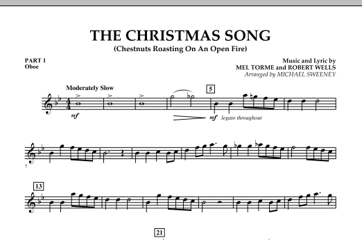 The Christmas Song (Chestnuts Roasting On An Open Fire) - Pt.1: Oboe (Concert Band)