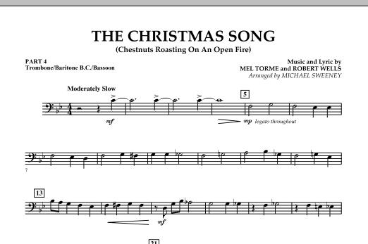 The Christmas Song (Chestnuts Roasting On An Open Fire) - Pt.4: Trombone/Bar. B.C./Bsn. (Concert Band)