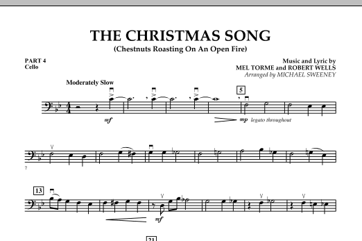The Christmas Song (Chestnuts Roasting On An Open Fire) - Pt.4: Cello (Concert Band)