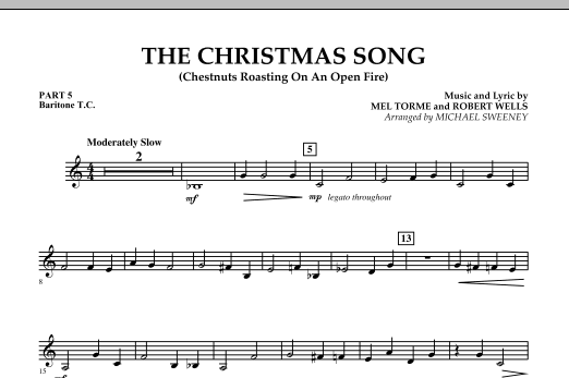 The Christmas Song (Chestnuts Roasting On An Open Fire) - Pt.5: Baritone T.C. (Concert Band)