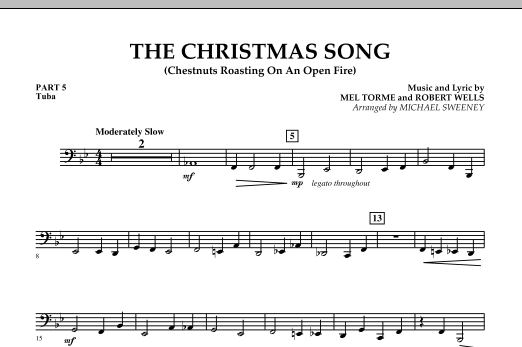 The Christmas Song (Chestnuts Roasting On An Open Fire) - Pt.5: Tuba (Concert Band)
