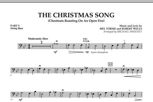 The Christmas Song (Chestnuts Roasting On An Open Fire) - Pt.5: String/Electric Bass (Concert Band)