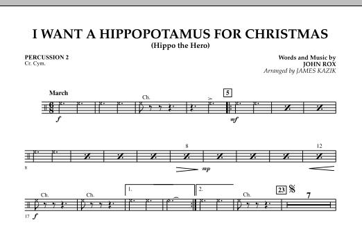 I Want A Hippopotamus For Christmas Sheet Music.I Want A Hippopotamus For Christmas Trombone By John Rox James Kazik John Rox Hal Leonard Prima Music