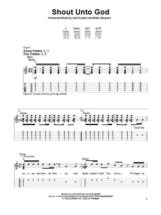Tell the world hillsong chords pdf