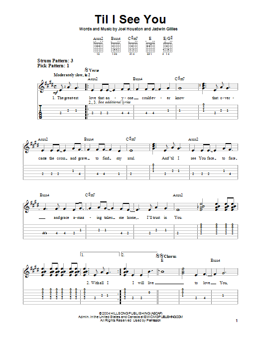 Til I See You Sheet Music
