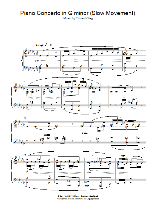 By Edvard Grieg - digital sheet music to download