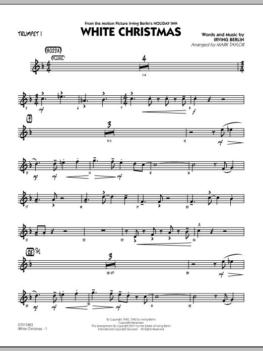 White Christmas - Trumpet 1 (Jazz Ensemble)