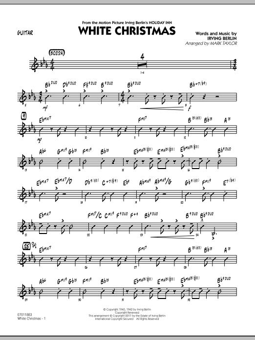 White Christmas - Guitar (Jazz Ensemble)