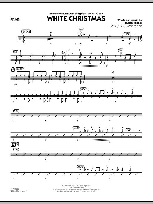 White Christmas - Drums (Jazz Ensemble)