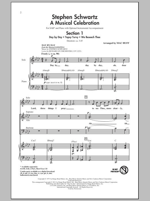 A Musical Celebration (arr. Mac Huff) Sheet Music