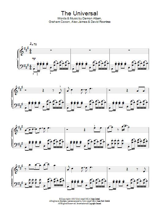 The Universal (Piano Solo)